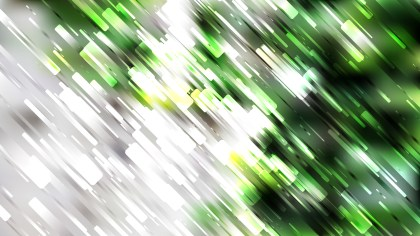 Green Black and White Diagonal Random Lines Background