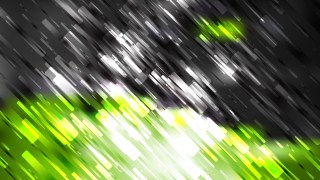 Abstract Green Black and White Diagonal Random Lines Background