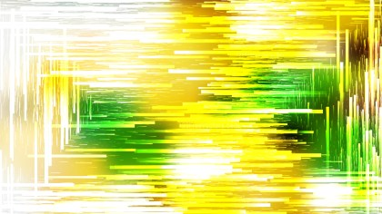 Abstract Green Yellow and White Random Lines Background Vector Art