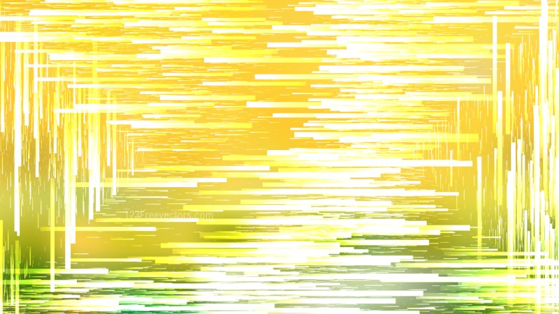 Abstract Green Yellow and White Chaotic Lines Background