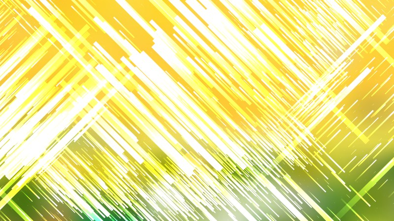 Green Yellow and White Abstract Chaotic Lines Background