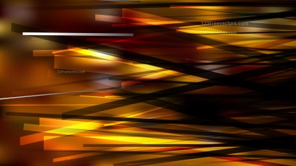 Orange and Black Chaotic Lines Background Image