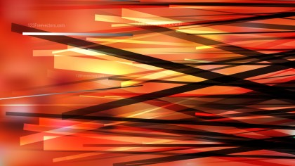 Orange and Black Intersecting Lines background Vector Image