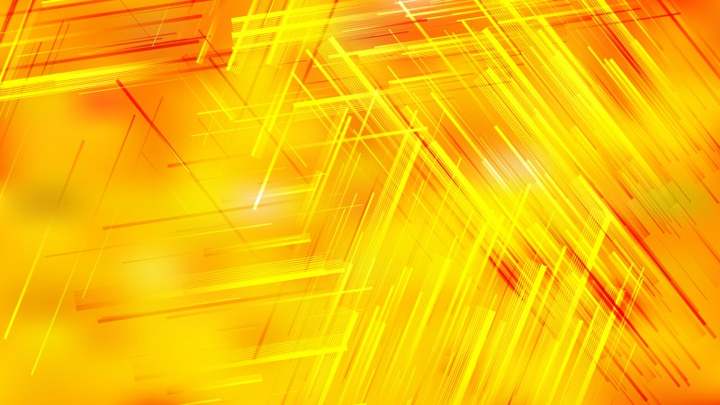 Orange and Yellow Dynamic Irregular Lines Background