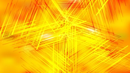 Orange and Yellow Chaotic Intersecting Lines Background