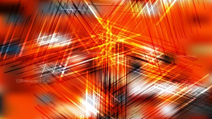 Orange Black and White Dynamic Intersecting Lines background