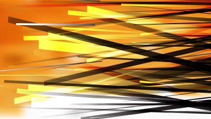 Orange Black and White Overlapping Lines Background Graphic