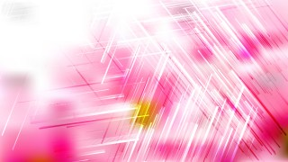 Pink and White Chaotic Random Lines Abstract Background