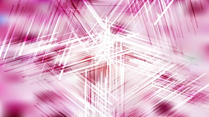 Abstract Pink and White Intersecting Lines Stripes Background