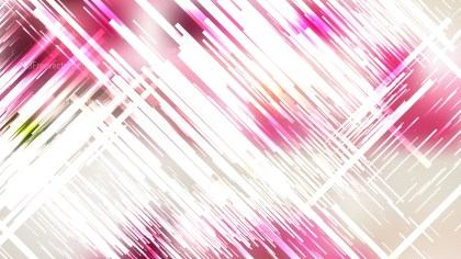 Pink and White Random Diagonal Lines Background Vector Image