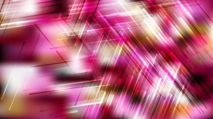 Abstract Pink Black and White Dynamic Random Lines Background