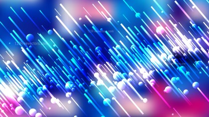 Abstract Pink Blue and White Random Diagonal Lines Background