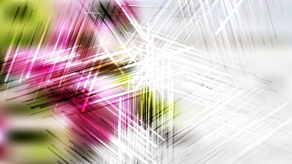Pink Green and White Random Abstract Intersecting Lines background