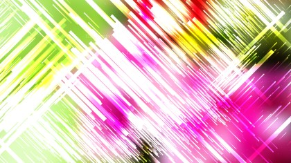 Pink Green and White Random Diagonal Lines Background