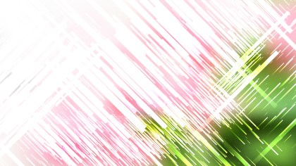 Abstract Pink Green and White Random Diagonal Lines Background