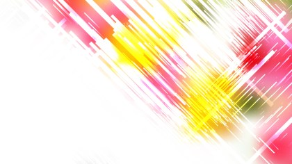 Pink Yellow and White Random Diagonal Lines Background