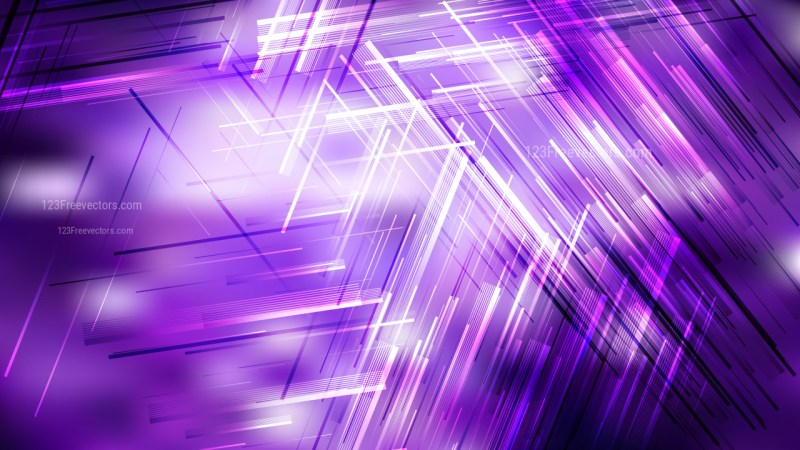 Purple and White Asymmetric Irregular Lines Background Vector Image