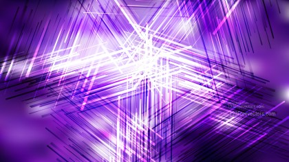 Purple and White Random Abstract Overlapping Lines Background Vector Illustration