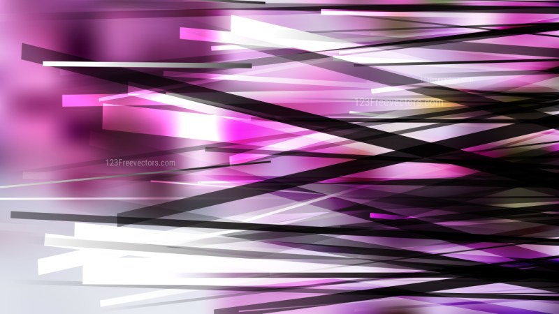 Purple Black and White Random Abstract Overlapping Lines Background