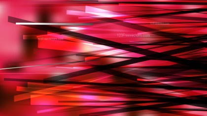 Red and Black Overlapping Lines Stripes Background