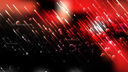 Abstract Red and Black Diagonal Random Lines Background Illustration