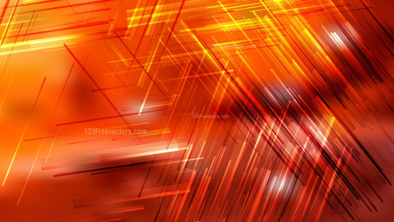 Abstract Red and Orange Geometric Irregular Lines Background Illustrator