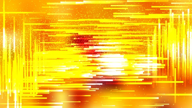 Red and Yellow Asymmetric Random Lines Background