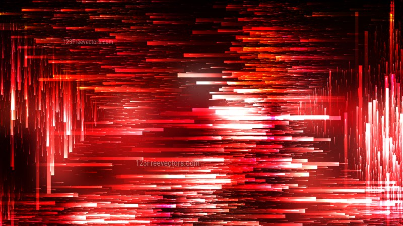 Abstract Red Black and White Random Lines Background Illustration