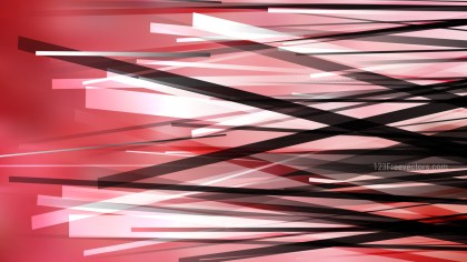 Red Black and White Random Overlapping Lines Background