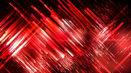 Red Black and White Chaotic Random Lines Abstract Background