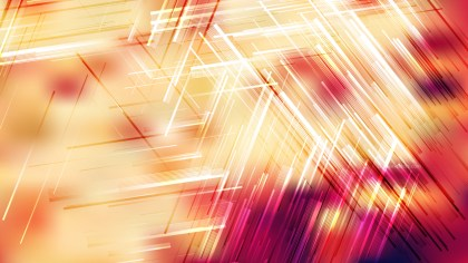 Red White and Yellow Chaotic Random Lines Abstract Background Vector Art