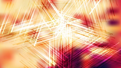 Red White and Yellow Random Abstract Intersecting Lines background Vector