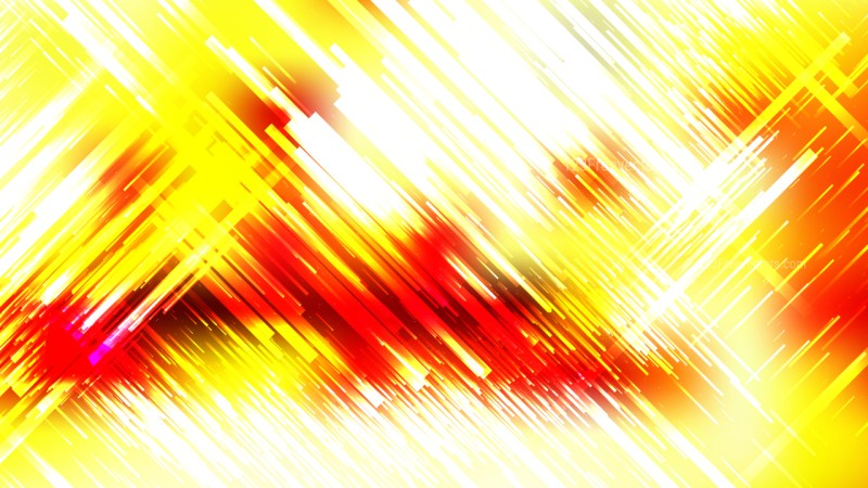 Red White and Yellow Random Slanting Lines Background