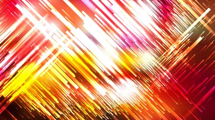 Red White and Yellow Random Chaotic Lines Abstract Background