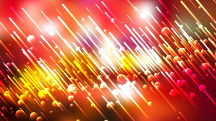 Abstract Red White and Yellow Random Diagonal Lines Background Design