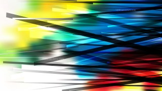 Red Yellow and Blue Chaotic Overlapping Lines Background