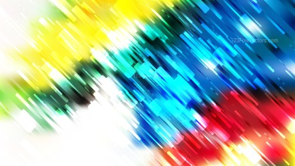 Abstract Red Yellow and Blue Diagonal Lines Background