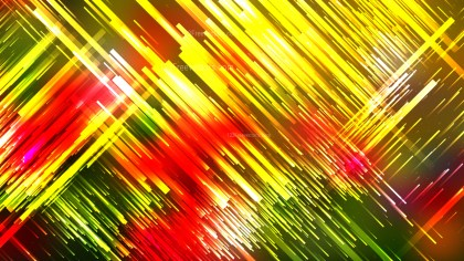 Abstract Red Yellow and Green Diagonal Random Lines Background Vector Image