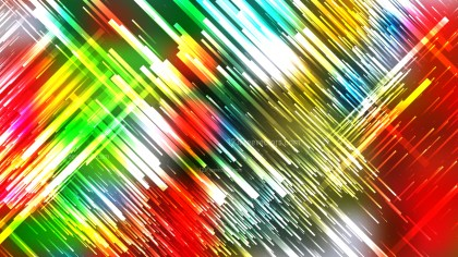 Abstract Red Yellow and Green Random Diagonal Lines Background Image