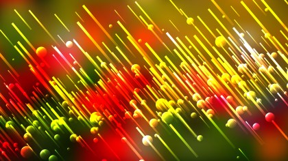 Red Yellow and Green Diagonal Random Lines Background