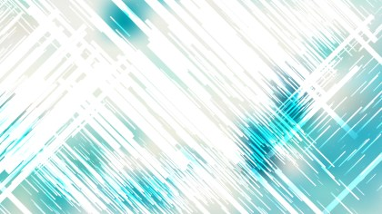 Turquoise and White Abstract Random Lines Background
