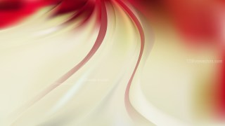 Glowing Abstract Beige and Red Wave Background