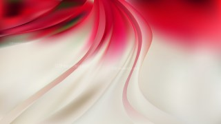 Beige and Red Abstract Wave Background