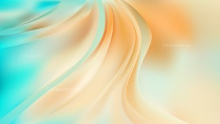 Abstract Beige and Turquoise Curve Background