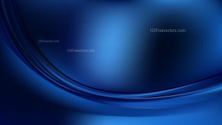 Abstract Black and Blue Curve Background Vector Art