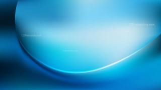 Blue Abstract Wavy Background