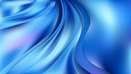 Blue Abstract Wave Background Image