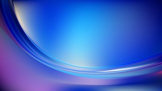 Blue and Purple Abstract Curve Background