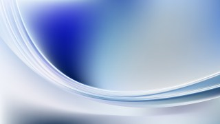 Abstract Blue and White Wavy Background Vector