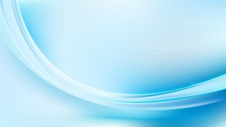 Blue and White Abstract Curve Background